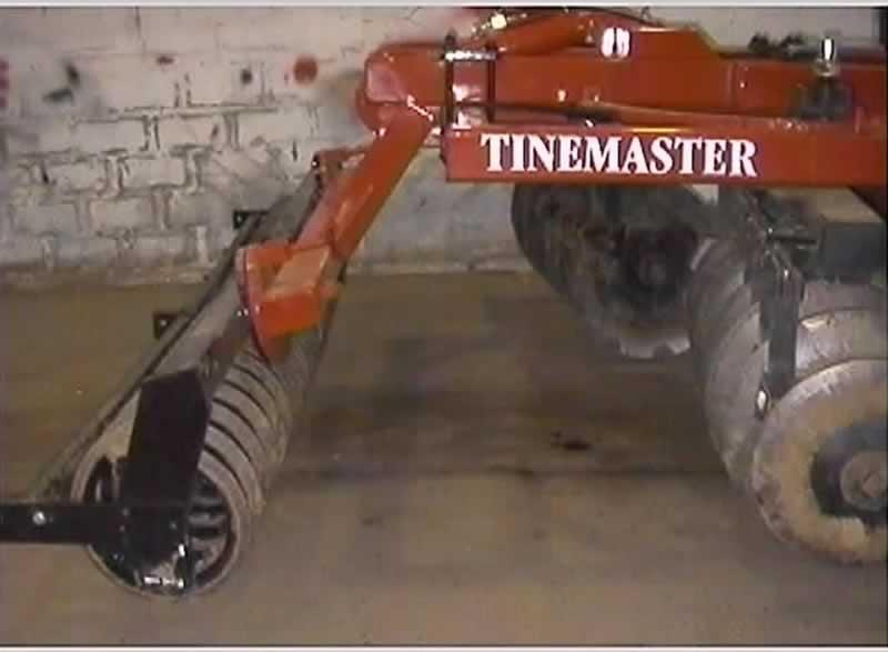 Flexicoil mounted on 3.00m Tinemaster rigid frame